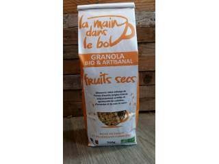 Granola fruits secs 700gr